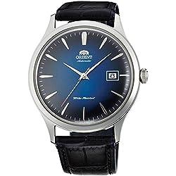 """ORIENT """"Bambino 4"""" Klassisch Automatikwerk mit Handaufzug blauen Gradienten Armbanduhr FAC08004D"""