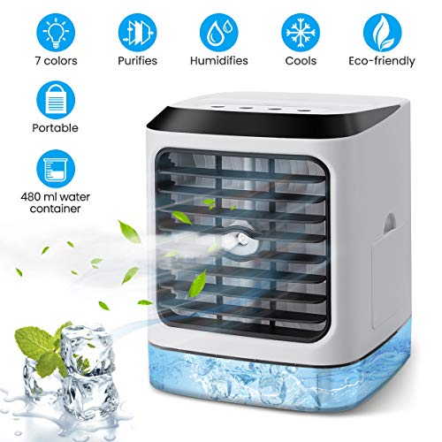 OUTERDO Air Cooler, Portable Air...