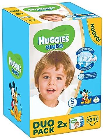 Huggies–Bimbo–Windeln–Größe 5(12–18kg)–2x 42Windeln