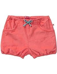 Piccalilly coton bio rouge/corail bébé & enfant filles cordon Culotte bouffante
