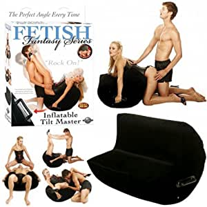 Fetish Fantasy Series Fetish Fantasy Inflatable Tilt Master, Noir