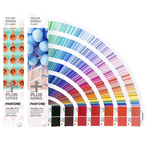 PANTONE PLUS GP6102N Color Bridge Set Coated & Uncoated [Set aus zwei Fächern] -