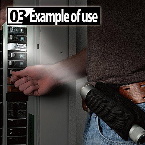 Nite Ize Lite Stretch Holster Torch Case – Black