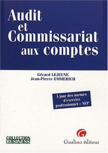 Audit et Commissariat aux comptes : A jour des normes d'exercice professionnel-NEP