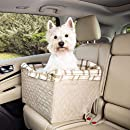 PetSafe Solvit Deluxe Haustier Autositz, Sicher, Komfortable, für Hunde und Katzen