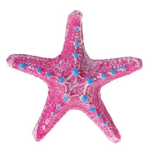 (FKY Künstliche Seestern für Aquarien, Hot Pink)