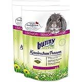 2 x 4 kg= 8 kg Bunny Nature Kaninchen Traum Senior für Zwergkaninchen ab 6 Jahre