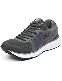 Pure Play Men's Trainer DK.Grey Red Sports Shoes