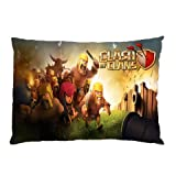 Clash of Clans Pillowcase/Copricuscini e federe in Size 18 X 26 Inch and 2 Side Picture in Pillowcase/Copricuscini e federe Pillow case/Copricuscini e federe Type #2101