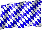 Flagge/Fahne SACHSEN Staatsflagge/Landesflagge/Hissflagge mit Ösen 150x90 cm, sehr gute Qualität