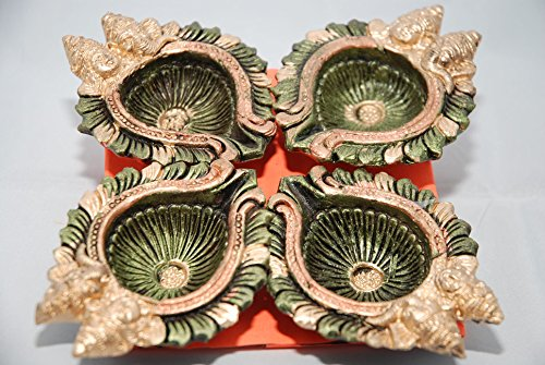 ganesh-and-lakshmi-diwali-diya-oil-lamp-pack-of-4