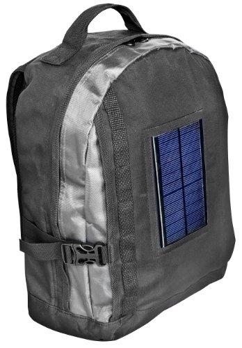 Bresser Rucksack mit integriertem Solarpanel und Akkupack Ipod Rucksack