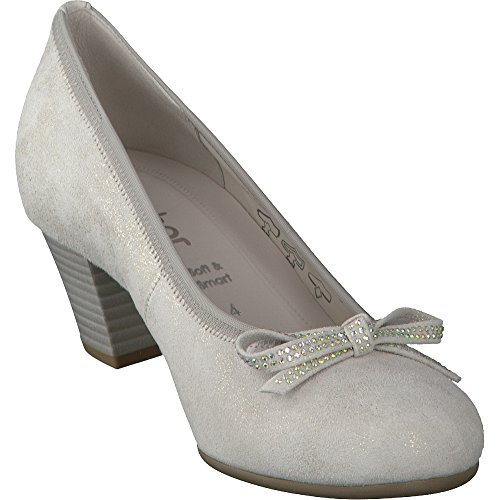 Gabor Damen Basic Pumps Puder