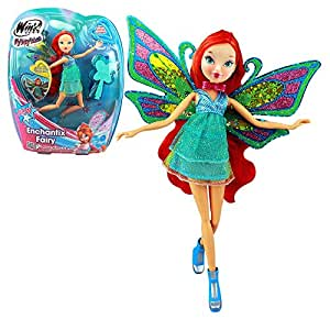 Winx club enchantix fairy bloom doll 28cm - Winx club bloom enchantix ...