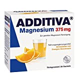 Additiva Magnesium 375 mg Granulat Orange 20 stk