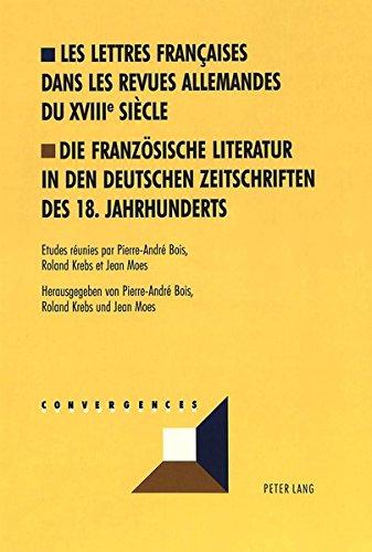Les lettres françaises dans les revues allemandes...