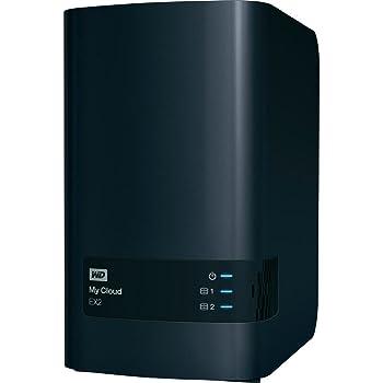 Western Digital 10TB My Cloud EX2 NAS Festplatte - LAN - WDBVKW0100JCH-EESN