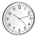 TFA-Dostmann Moderne-Wanduhr Santana TFA 60.3037.10 mit leisem Sweep-Uhrwerk Analoge Quartz Uhr 330 mm