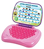 #8: Prasid Lovely English Learner Kids Laptop, Pink/Purple