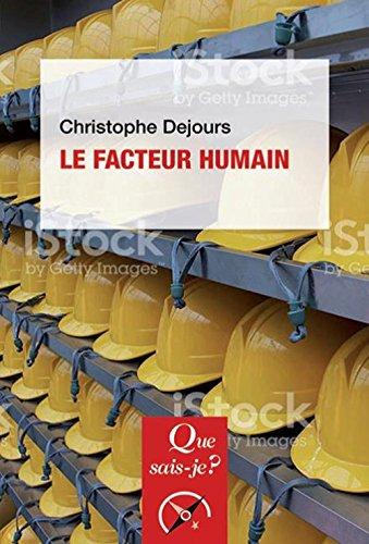 Le facteur humain