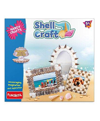 Funskool Handycrafts Shell Craft, Multi Color