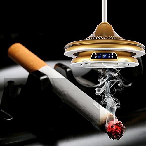 Sala de ajedrez lámpara de purificador de aire mahjong lámpara de ascensor humo humo fumar balcón...