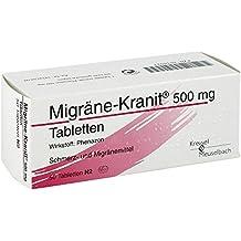 Migräne Kranit 500 mg Tabletten 50 stk