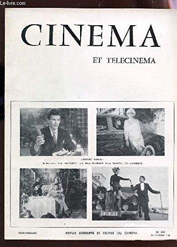 CINEMA ET TELECINEMA - N°391 - 15 janvier 1968 / Le pirate du roi - tilt a Bangkok - La chatte sauvage - paranoia etc...