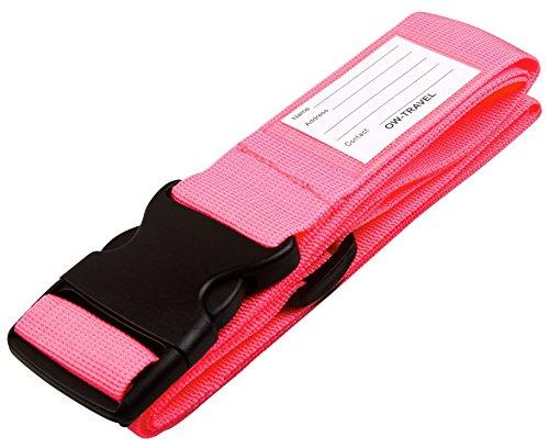 OW-TRAVEL OW-TRAVEL Luggage Strap - Correa para equipaje 1 - Pink