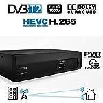 La vostra tv non ha il decoder hd integrato e non vedete rai1 HD ( e tutti gli altri canali in alta definizione ) ?  Questo box fa' al caso nostro.  ReDi 270 è un decoder digitale terrestre DVB-T2 HEVC H.265 MPEG4 che permette di guardare la TV digit...