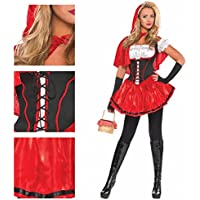 Christy`s - Disfraz de Caperucita Roja para mujer, talla M (996967)