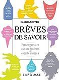 BREVES DE SAVOIR..