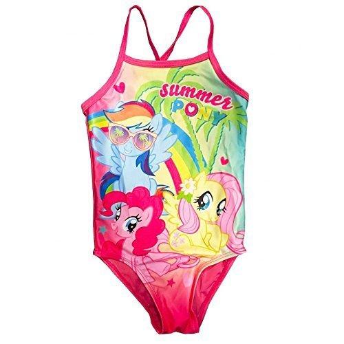 offiziell lizenziert Mädchen My little Pony Schwimmen Kostüm 18 months-5 Jahre - Mehrfarbig, Age 18-24 Months
