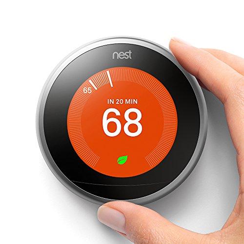 Termostato Nest Learning de 3 Generación compatible con Alexa de Amazon
