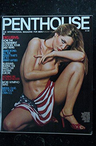 PENTHOUSE US 1977/08 Barbara Corser Anna Noble Jill Goodall Anida Pavel Paula Tinn Dawn Rodriquez Tina Braun Caroline Muno