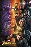 Up Close Poster Marvel Avengers Infinity War - Personnages (61cm x 91,5cm)