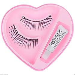 3 Pairs Black Sparse False Eyelashes Eye Artificial / Bridal Eyelashes