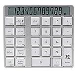 XtremeMac XMNUMBTCAL Aluminium Bluetooth Numerical And Calculator Keypad With Digital Screen