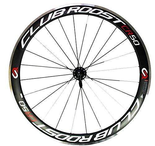 Club Roost CR50 - Roues en carbone/aluminium/céramique pour vélo de route - 10/11 vitesse shimano & sram - Road wheels