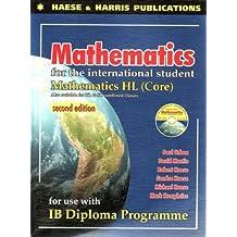 Mathematics for the International Students: IB Dipolma HL Core