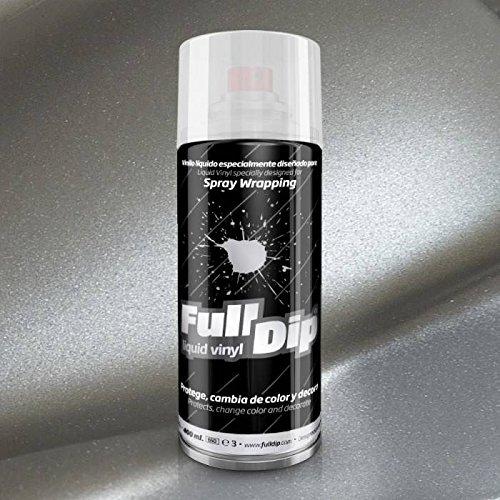 FullDip FLD0200 Vinilo Líquido, Aluminio Metalizado, 400 ml