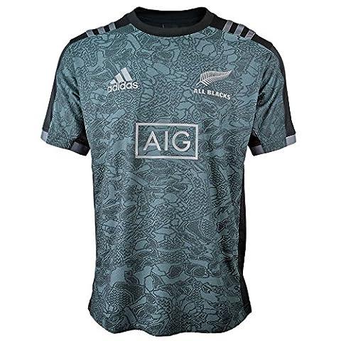 adidas Herren Performance All Blacks T-Shirt, Black/Granit, M (American Apparel Deutschland)