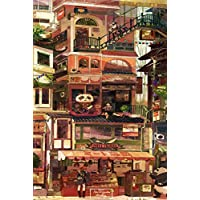 TTY Jigsaw Puzzles Creative Cute Panda Granary Wooden Adult 1000 Piece Puzzle Kids Educational Toys Game Adult