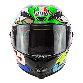 AGV Motorradhelm Pista GP R Carbon Valentino Rossi Limited Edition Mugello 2017 469 Kentucky Kid Tribute, Größe: MS