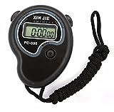 HCFKJ Cronometro Orologio LCD Digitale Professionale Cronografo Timer Contatore Sport