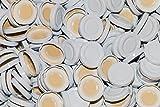 slkfactory 15St. Twist-Off-Deckel TO43 mm Verschluss weiß für Glasflaschen Milchflaschen Saftflaschen Deckel für unsere 0.2/0.25Liter (15 Stück)
