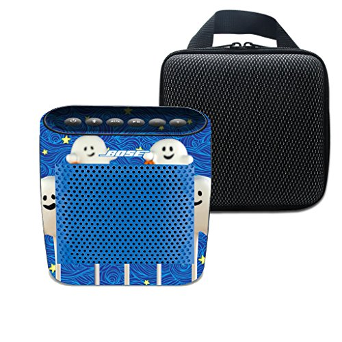 3C-LIFE für Bose Soundlink Farbe drahtloser Bluetooth Lautsprecher weiche Trage Spielraum-Speicher-Fall-Beutel & Cute Halloween-Geist und schöne Galaxie (Farbe 4)