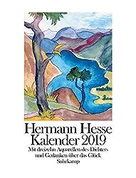 Kalender 2019: Mit dreizehn Aquarellen und Gedanken über das Glück