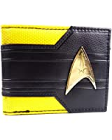 Awesome Star Trek Yellow & Gold Command Logo Bi-Fold Wallet