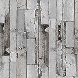 i.stHOME Klebefolie Möbelfolie altes Holz Door dark - grau anthrazit